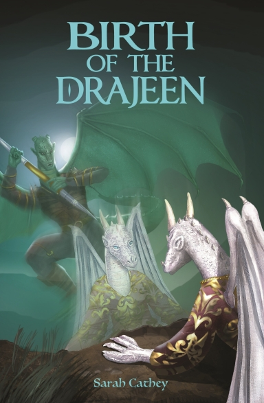 birth of the drajeen cover - kindle
